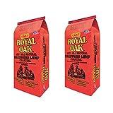 Royal Oak BBQ All Natural Premium 15 lb Lump Charcoal Starter Hardwood (2 Pack)