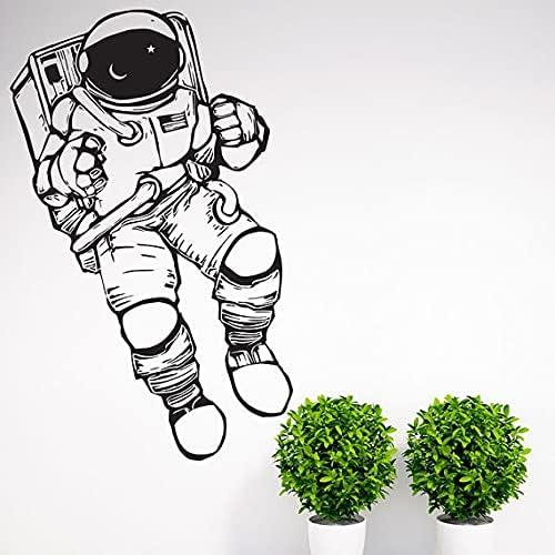 Outer Space Cosmonaut 5 Miami Mall ☆ popular Astronaut Wall Decor Art Decal Sti Nursery