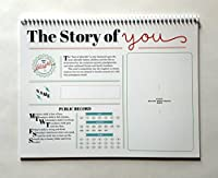 The Story of You. An Undated 13-month Keepsake Calendar for Baby by The Future Mrs. Darcy