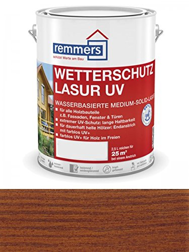 Remmers Wetterschutz-Lasur UV - nussbaum 2,5L