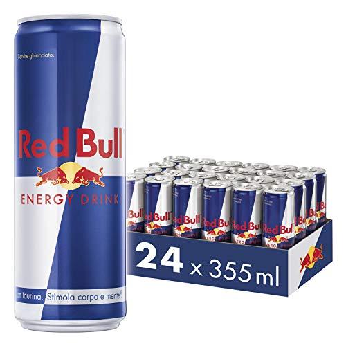 Red Bull Energy Drink, 355 ml (24 Lattine)