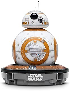 Sphero Battle-Worn Bb-8 Droid with Force Band & Collector's Edition Black Tin by Star Wars (Renewed)