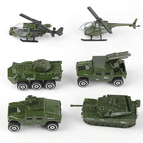 Modelo de Coche Militar en Miniatura Coche de Escalada Competición al Aire Libre para niños