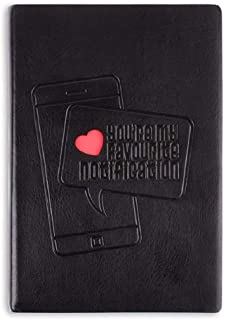 Doodle Beeping Love Premium Diary Notebook (4.75 X 7 Inches, 80 GSM, 192 Ruled Pages) Gift for Valentine