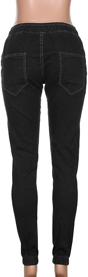 RAISINGTOP Men Stretchy Slim Fit Denim Pants Hipster Casual Long Straight Trousers Skinny Jeans Tapered Bundle New