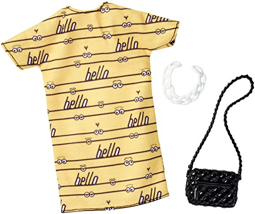 Barbie Despicable Me Yellow Dress Fashion Pack
