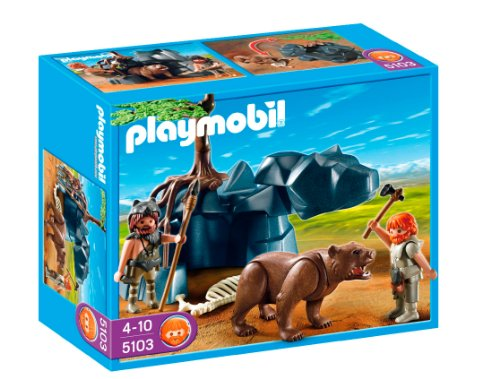 Playmobil - Edad Piedra Cavernícola con Oso (5103)