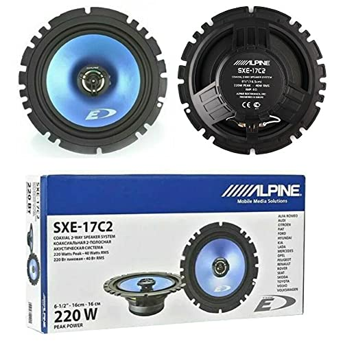 2 Altavoces Compatible con Alpine SXE-17C 2 coaxiales de 2 vías 16,50...