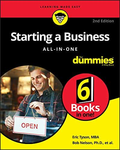 Starting a Business All-in-One For Dummies (For Dummies (Business & Personal Finance)) (English Edition)