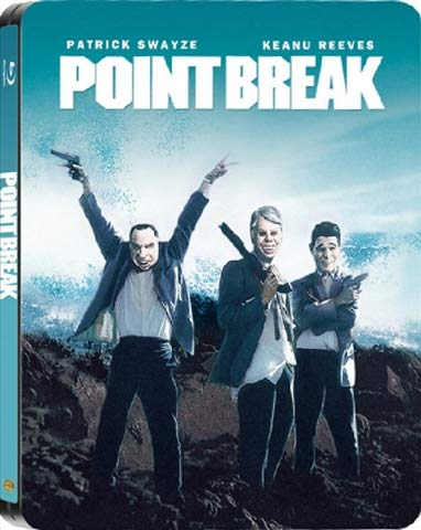 Point Break (Gefährliche Brandung) - Limited Edition Tin-Box (inkl. Digipack + Deutscher Ton + Kette) - Blu-ray