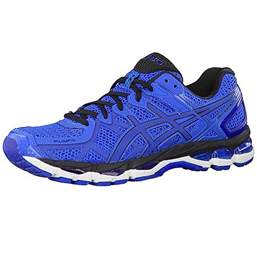 Asics - Gel Kayano 21 uomo - Blue/Blue/Black, 40