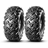 MaxAuto 22x8-10 22x8x10 Front ATV Tires AT Mud Sand All Terrain ATV UTV Tires Turf Tires, 4 Ply Rating Tubeless, Set of 2