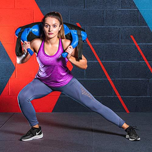 METIS Bulgarian Bag – 5kg bis 20kg   Crossfit Equipment und Krafttraining – Trainingsgerät für Fitnesscenter und Zuhause (10kg) - 3