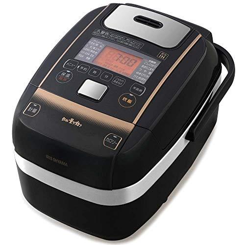アイリスオーヤマ 米屋の旨み 銘柄量り炊き 圧力IHジャー炊飯器3合 (分離なし) KRC-PC30-B
