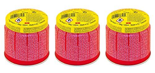 Rothenberger Industrial C200 Supergas - 3er Pack - Anstechkartuschenset - hochreines Butan-Gasgemisch