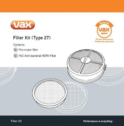Vax 1-1-129220-00 Filtersatz, Kunststoff