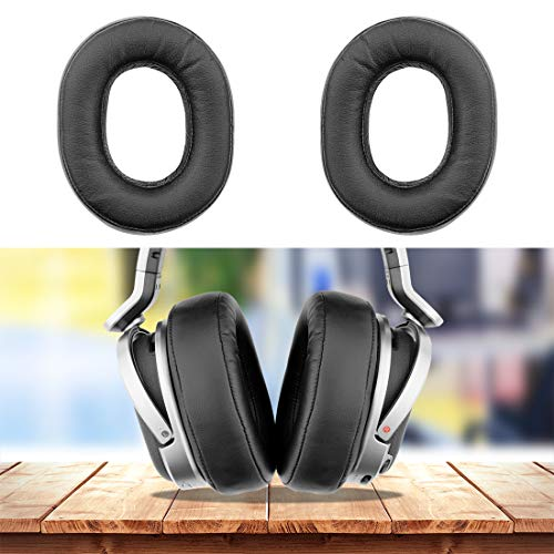 Geekria Earpad Replacement for Sony MDR-HW700, MDR-HW700DS Wireless Headphone Ear Pad/Ear Cushion/Ear Cups/Ear Cover/Earpads Repair Parts (Black)