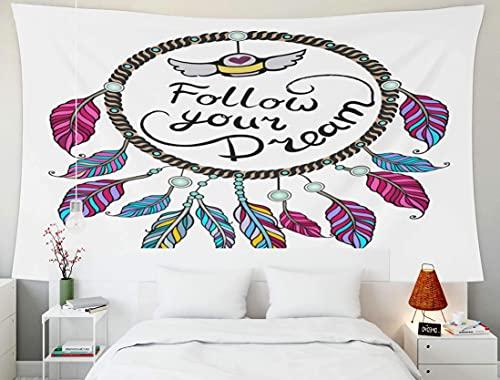 Tapiz grande para colgar en la pared, tapices Deacutecor, sala de estar, dormitorio para el hogar, por Printed for Your Dream, amuleto tribal, indios americanos, símbolo tradicional, diseño bohemio