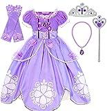 Romy's Collection Purple Amulet Princess Party Costume Dress Up Set (4-5)