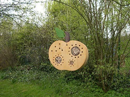 Insektenhotel Apfel natur