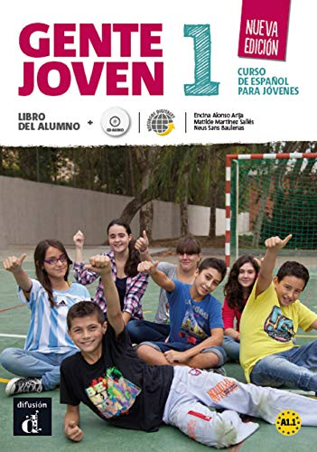 Gente Joven 1 Nueva Edición Libro Del Alumno + CD