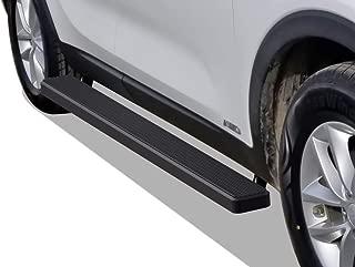 APS iBoard Running Boards 5 inches Matte Black Custom Fit 2016-2020 KIA Sorento Sport Utility 4-Door (Nerf Bars Side Steps Side Bars)