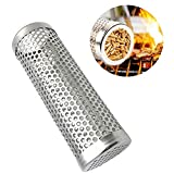 JUSTDOLIFE 6 '' Pellet Smoker Tube Acero Inoxidable Grill Smoke Tube Grill Grill Supplies
