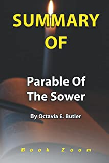 Summary Of Parable of the Sower: By Octavia E. Butler Book Zoom