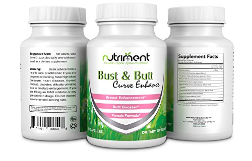 Breast and Buttock Enhancing pills-Increase Bust and Butt Size and Shape -Sculpt Your Body Like Never Before-Promotes Increased Curves and Shape-90 Capsules