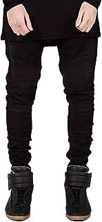 شلوار جین دوچرخه مردانه HUNGSON و شلوار جین لاغر اندام باریک و کشیده پا راست