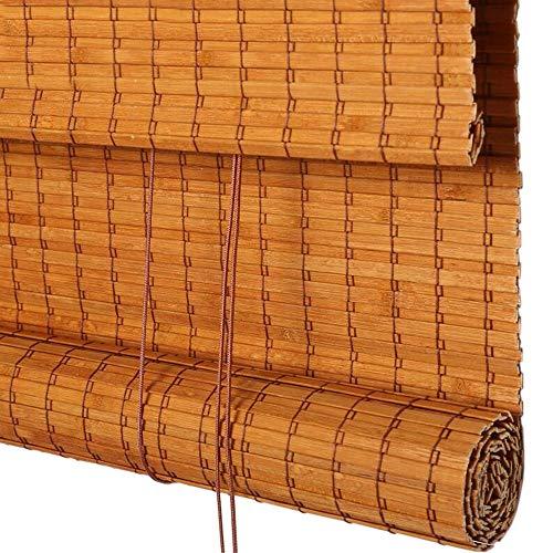 Jcnfa-rolgordijn bamboe rolgordijnen, breed bamboe gordijn, licht filteren rolgordijnen met Valance