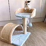 Árbol para Gatos Cat Cat Cat Condo Torre Árbol De Sisal Arañar Puestos con Salto De La Plataforma del Gato Muebles Centro De Actividades Play House