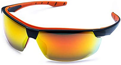 Óculos SOL Proteção ESPORTIVO STEELFLEX NEON PRETO ESPELHADO Esportivo AIRSOFT Teste Balístico Paintball Resistente A Impa...