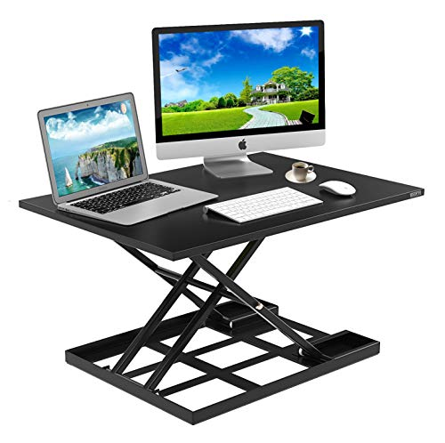 Standing Desk Stand Up Desks Height Adjustable Sit Stand...