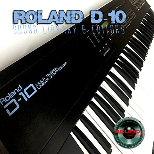 Fantastic Deal! for ROLAND D-10 Huge Original Factory and NEW Created Sound Library & Editors on CD