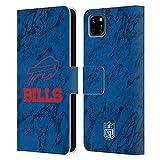Head Case Designs sous Licence Officielle NFL Marbre Coloré Buffalo Bills Graphics Coque en Cuir à...