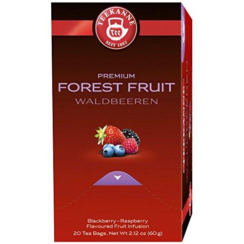 Teekanne Premium Waldbeeren, 20er aromaversiegelte Beutel, 5er Pack (5 x 60 g)
