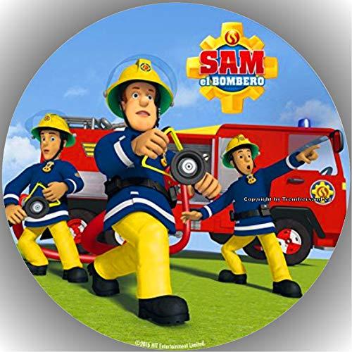 Premium Esspapier Tortenaufleger Feuerwehrmann Sam AMA14