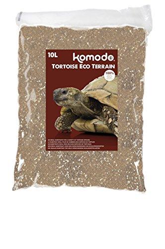 Komodo. Tortuga ecológica Tierra, 10 litros.