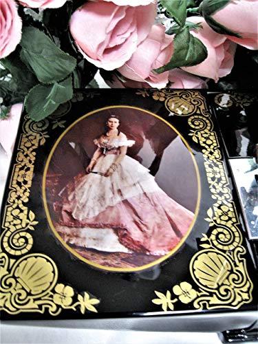 Máquina de coser mini máquina de coser de mano para adultos Desk Dave's Rare Historic, Victorian Masterpiece Edición limitada Singer Pluma 221 máquina de coser Lady Alexandra, Princes