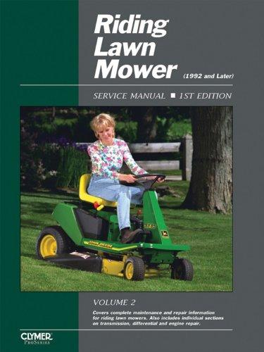Proseries Riding Lawn Mower Service Repair Manual Volume 2