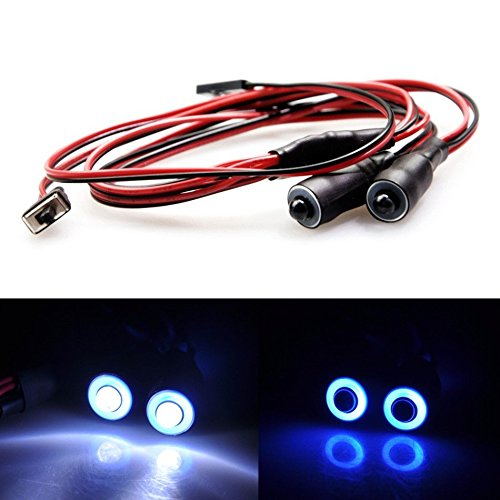 RC Modelo LED Luces Set Grupo de L/ámparas para Traxxas TRX-4 Crawler Car Dilwe RC LED Luz