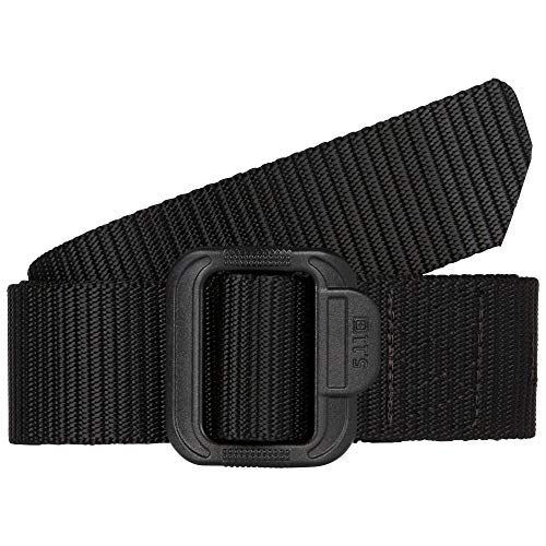 5.11 TDU Tactical Belt, Non-Metal, 1.5-inch, Style 59551, Black, Small
