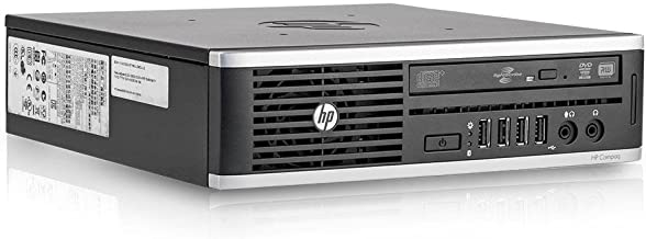 HP Elite 8200 Ultra Slim Desktop PC - Intel Core i5-2400S 2.5GHz 8GB 250GB DVDRW Windows 10 Professional (Renewed)