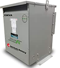 15 kVA WYE 240Y/208Y Volt Primary to 208Y/240Y Volt Secondary 3 Phase Transformer