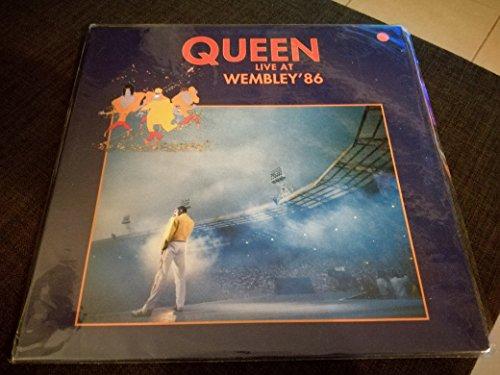 QUEEN -LIVE AT WEMBLEY '86- 2 LP BLACK
