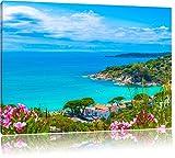 Pixxprint Panorama an der Toskana als Leinwandbild |