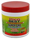 Africa's Best Maximum Strength Super Gro Hair & Scalp Conditioner, 5.25 oz (Pack of 3)