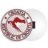 Destino Vinilo Ltd Croacia Mapa Imán - Dubrovnik Zagreb Viajes de Vacaciones Diversión Guay Regalo # 4499