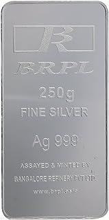 Bangalore Refinery 999 Purity Silver Bar 250 Gram